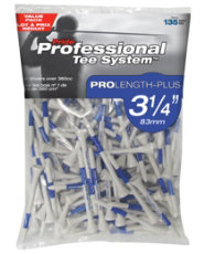 "Pride Professional PTS 3 1/4"" Tees - 135 Count"