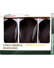 Golf Galaxy 3-Pack Longneck Headcovers
