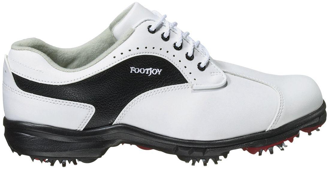FootJoy Womens GreenJoy Golf Shoe - White/Black