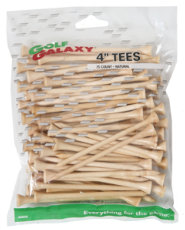 "Golf Galaxy 4"" Natural Golf Tees - 75 count"