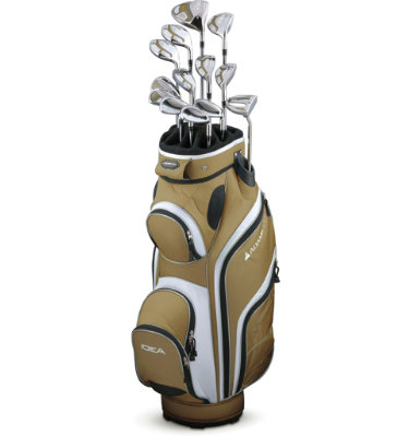 ADAMS GOLF Women's Idea A7OS 14 Piece Set - Bronze