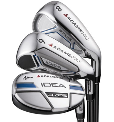 ADAMS GOLF Men's IDEA a7OS Hybrid/Irons - (Steel) 3-5H, 6-PW