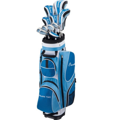 ADAMS GOLF Women's SQ2 Finesse Complete Set 2009 - Blue