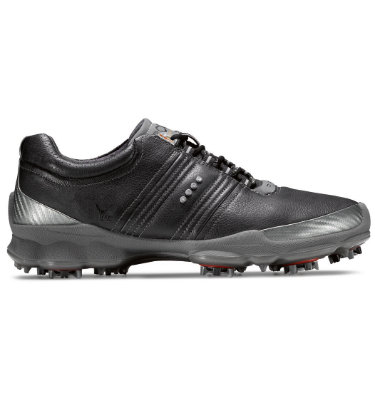 ECCO Men's Biom Golf Shoes - Black/Steel