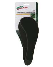 Golf Galaxy Black Dual Magnetic Hybrid Head Cover
