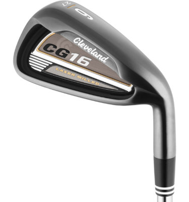 Cleveland Men's CG16 Black Pearl Senior Irons - (Graphite) 3-PW