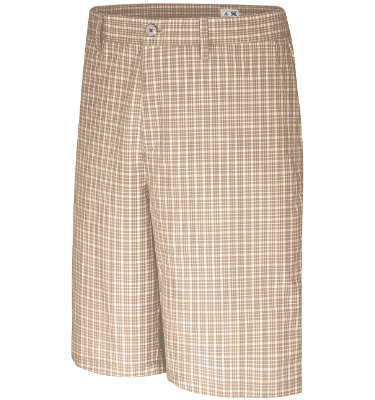 adidas Men's CLIMALITE Plaid Short
