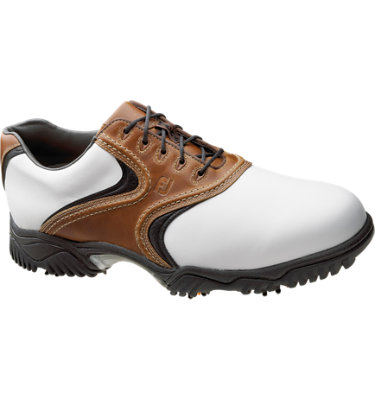 FootJoy Men's Contour Shoe - White/Brown/Black