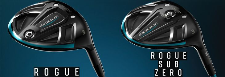 Callaway Rogue Fairway Wood Selection