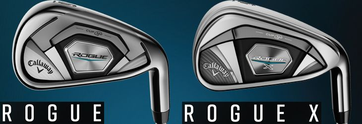 Callaway Rogue Irons Selection