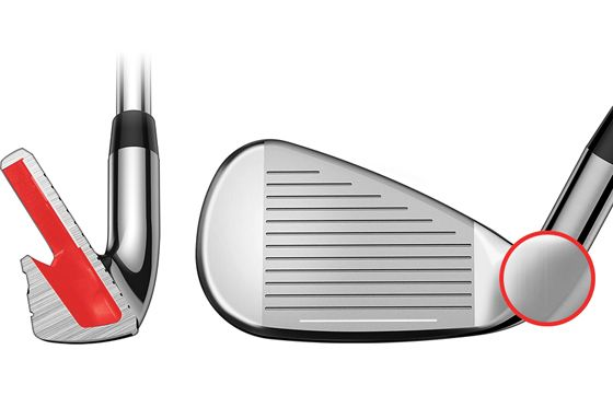 Cobra F-MAX ONE LENGTH Irons: Improved Clubhead Construction