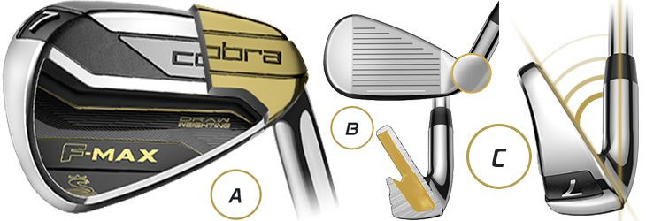 Cobra F-MAX Irons: Designed with Ease of Launch and Forgiveness in Mind
