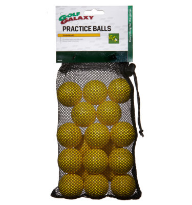 Golf Galaxy Dimpled Foam Practice Balls - 18 count