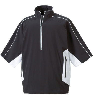 FootJoy Men's DryJoys 1/4 Zip Short Sleeve Rainshirt