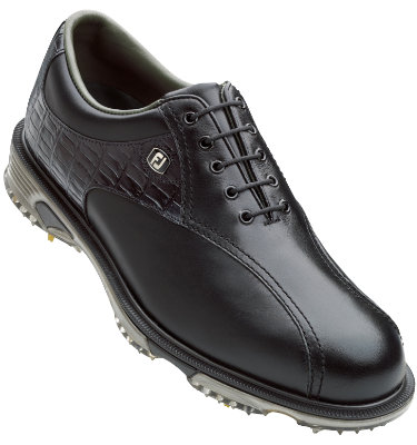 FootJoy Men's DryJoy Tour Bike Toe Golf Shoes - Black (Disc Style 53652)