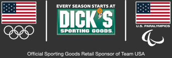 Official Sporting Goods Retailer of Team USA