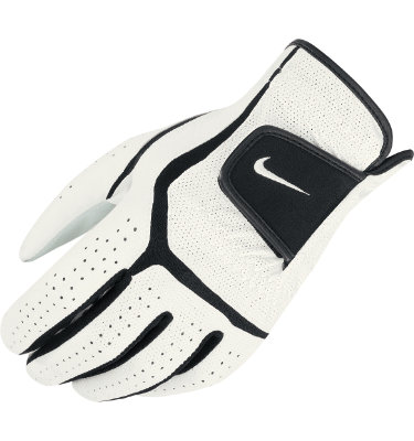 Nike Men's Dura Feel Golf Glove - White