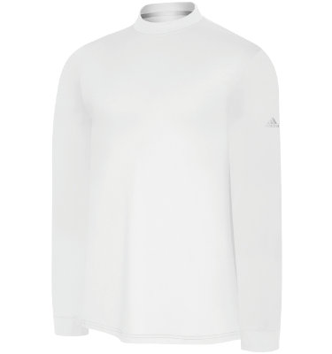 adidas Men's ClimaLite Mock Neck Long Sleeve T-Shirt