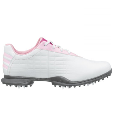 adidas Women's Driver May Z Golf Shoe - White/Tea Rose/Silver