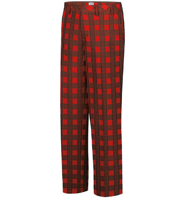 adidas Men's Fashion Performance Plaid Pant