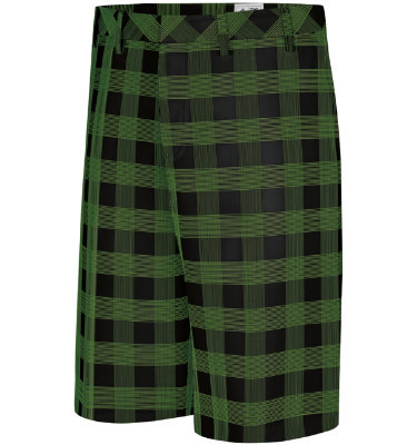 adidas Men's FP Plaid Short