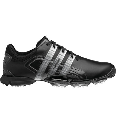 adidas Men's Powerband 4.0 Golf Shoe - Black/White