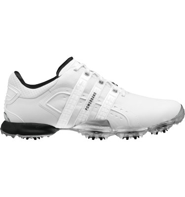 adidas Men's Powerband 4.0 Golf Shoe - White