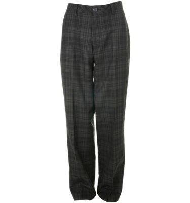 Ashworth Men's Flat Front Plaid Pant
