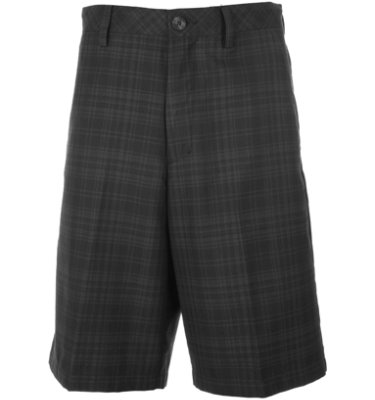 Ashworth Men's Tonal Plaid Short