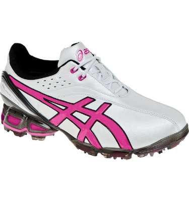 ASICS Men's Gel Ace Pro Golf Shoe - Pearl White/Pink