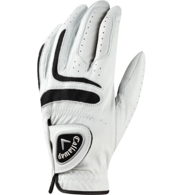 Callaway Men's Tour Authentic Golf Glove - White