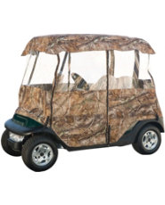 Classic Accessories Deluxe Camo Golf Cart Enclosure