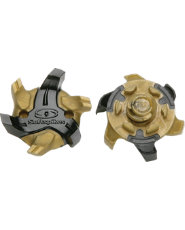 Softspikes Cyclone Golf Cleats - Black/Gold
