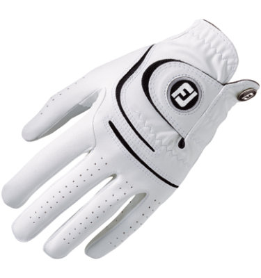FootJoy Men's WeatherSof Golf Glove - White(Disc Style 66319)
