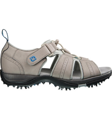 FootJoy Women's GreenJoys Golf Sandal - Taupe