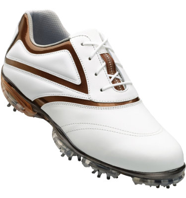 FootJoy Women's Sport Golf Shoe - White/Copper