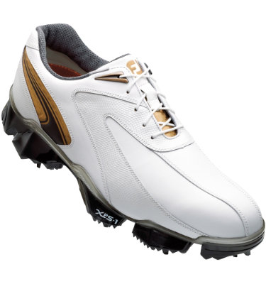 FootJoy Men's XPS-1 Golf Shoe - White/Black/Copper