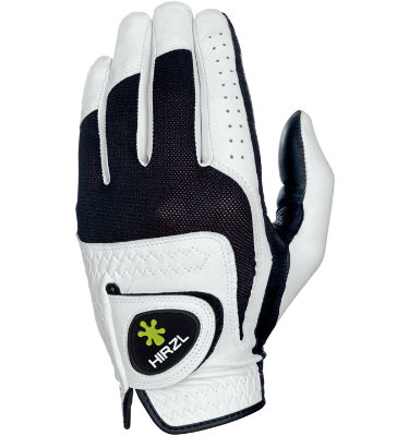 Hirzl Men's Trust Feel Golf Glove - White/ Black