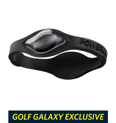 Power Balance Men's Hologram Wristband - Black/Black