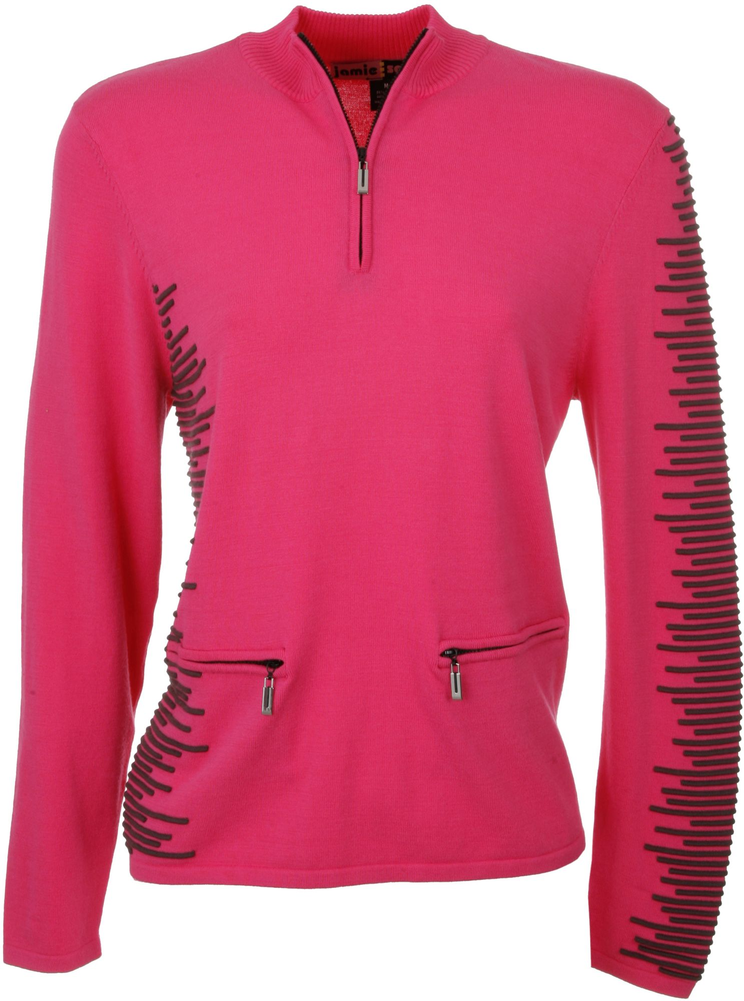 Jamie Sadock Women's Luscious ½ Zip Long Sleeve Sweater