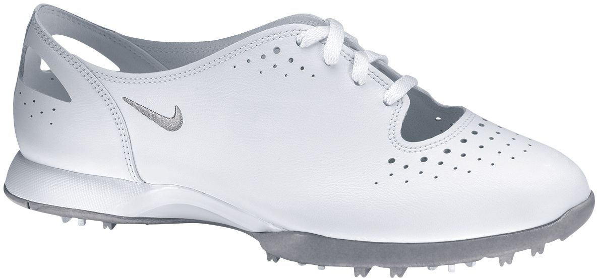 Nike Women's Air Summer Lace Golf Shoe - White/Silver