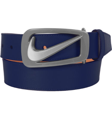 Nike Men's Signature Swoosh Cut Out Belt