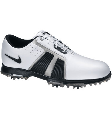 Nike Men's Zoom Trophy Golf Shoe - White/Black/Silver