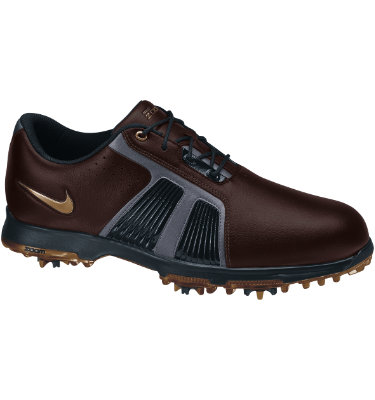 Nike Men's Zoom Trophy Golf Shoe - Brown/Black