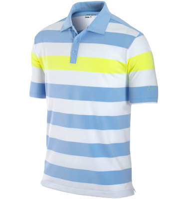 Nike Men's Bold Chest Stripe Short Sleeve Polo