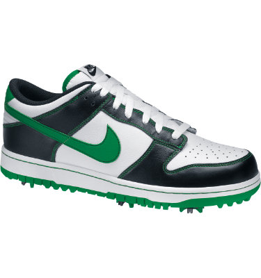 Nike Men's Dunk Golf Shoe - White/Court Green/Black