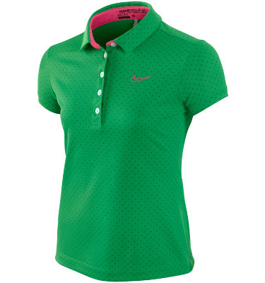 Nike Girls' Novelty Dot Short Sleeve Polo