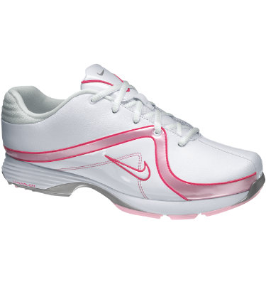 Nike Women's Lunar Brassie Golf Shoe - White/Pink Flash