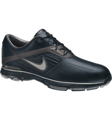 Nike Men's Lunar Prevail Golf Shoe - Black/Metallic Silver