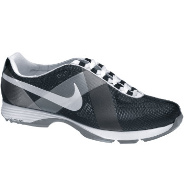 Nike Women's Lunar Summer Lite Golf Shoe - Black/White